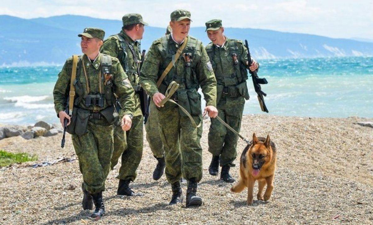 Фото пограничников россии на службе