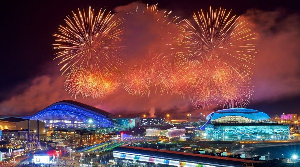 Показать олимпийский парк в сочи фото